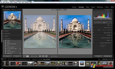 Screenshot Adobe Photoshop Lightroom para Windows XP
