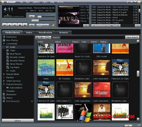 An easy-to-use media player for Windows