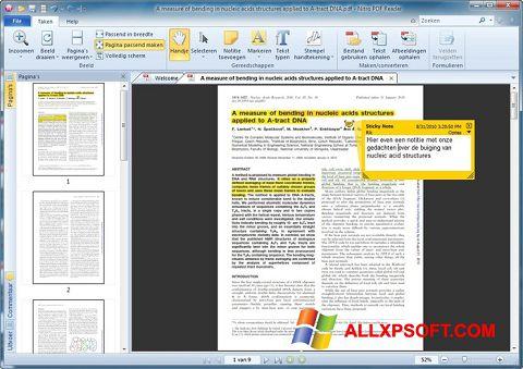 Screenshot Nitro PDF Reader para Windows XP