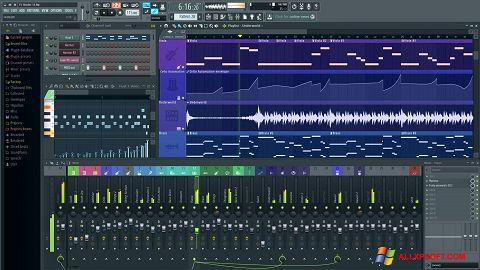 Screenshot FL Studio para Windows XP