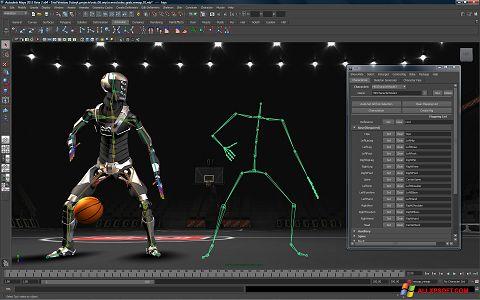 Screenshot Autodesk Maya para Windows XP
