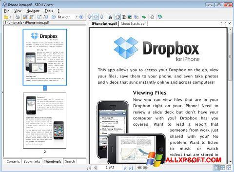 Screenshot STDU Viewer para Windows XP