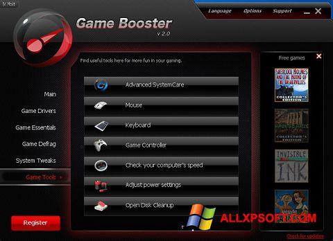 Screenshot Game Booster para Windows XP