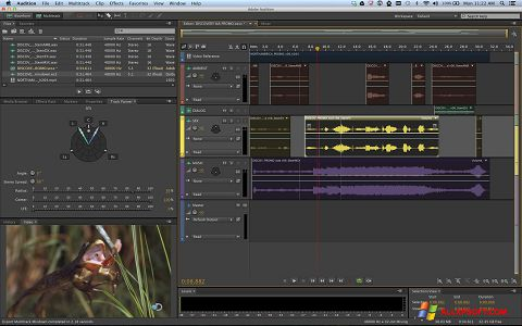 Screenshot Adobe Audition para Windows XP