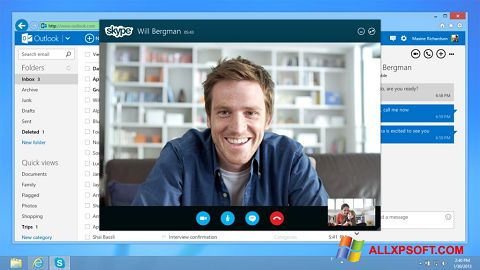 Screenshot Skype para Windows XP