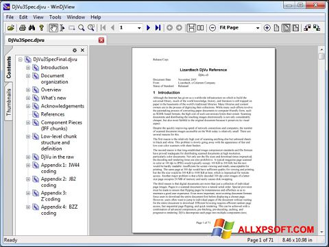 Screenshot WinDjView para Windows XP