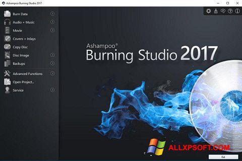 Screenshot Ashampoo Burning Studio para Windows XP